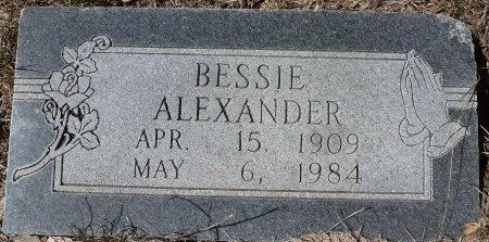 ALEXANDER, BESSIE - Lampasas County, Texas | BESSIE ALEXANDER - Texas Gravestone Photos
