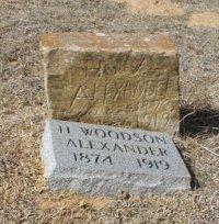 ALEXANDER, HENRY WOODSON - Lampasas County, Texas | HENRY WOODSON ALEXANDER - Texas Gravestone Photos