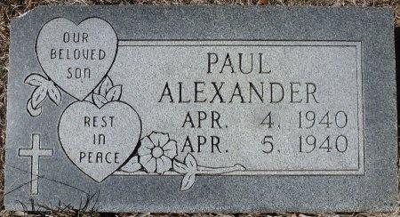 ALEXANDER, PAUL - Lampasas County, Texas | PAUL ALEXANDER - Texas Gravestone Photos