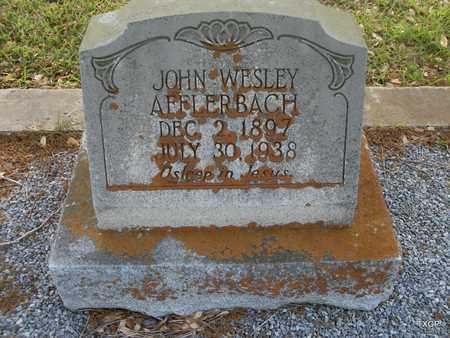 AFFLERBACH, JOHN WESLEY - Lavaca County, Texas | JOHN WESLEY AFFLERBACH - Texas Gravestone Photos