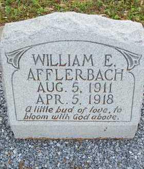 AFFLERBACH, WILLIAM EDWARD - Lavaca County, Texas | WILLIAM EDWARD AFFLERBACH - Texas Gravestone Photos