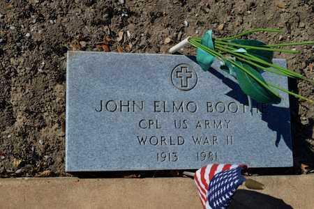 BOOTHE (VETERAN WWII), JOHN ELMO - Lavaca County, Texas   JOHN ELMO BOOTHE (VETERAN WWII) - Texas Gravestone Photos