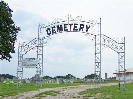 *CEMETERY ENTRANCE,  - Lavaca County, Texas |  *CEMETERY ENTRANCE - Texas Gravestone Photos
