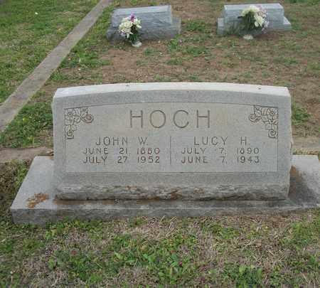 HOCH, LUCY HENNETTA - Lavaca County, Texas | LUCY HENNETTA HOCH - Texas Gravestone Photos