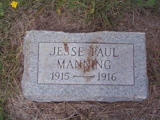 MANNING, JESSE PAUL - Lavaca County, Texas | JESSE PAUL MANNING - Texas Gravestone Photos