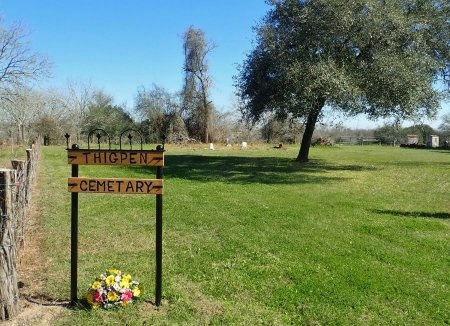 *THIGPEN OVERVIEW,  - Lavaca County, Texas |  *THIGPEN OVERVIEW - Texas Gravestone Photos
