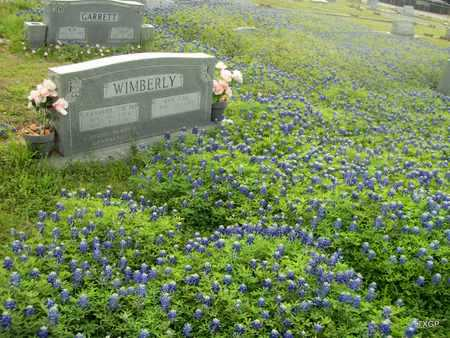 "WIMBERLY, SR, JERAMIAH M ""J M"" - Lavaca County, Texas | JERAMIAH M ""J M"" WIMBERLY, SR - Texas Gravestone Photos"