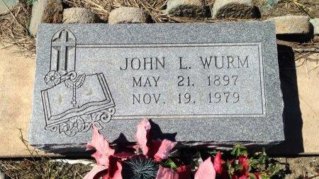 WURM, JOHN L. - Lavaca County, Texas | JOHN L. WURM - Texas Gravestone Photos