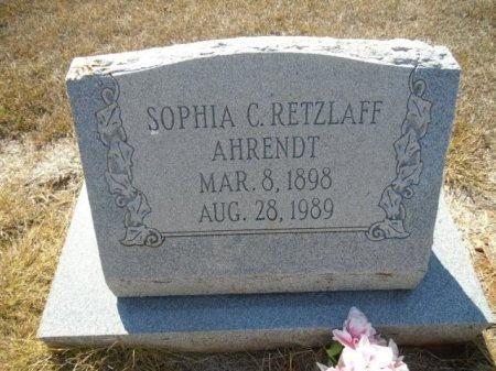 RETZLAFF, SOPHIA CAROLINE - Lee County, Texas | SOPHIA CAROLINE RETZLAFF - Texas Gravestone Photos