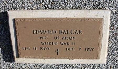 BALCAR (VETERAN WWII), EDWARD - Lee County, Texas | EDWARD BALCAR (VETERAN WWII) - Texas Gravestone Photos