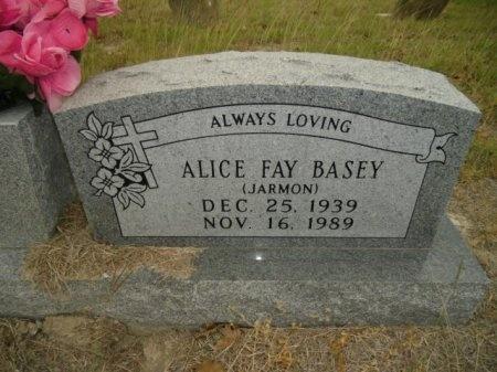 BASEY, ALICE FAY - Lee County, Texas | ALICE FAY BASEY - Texas Gravestone Photos