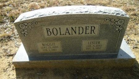 BOLANDER, MAGGIE - Lee County, Texas | MAGGIE BOLANDER - Texas Gravestone Photos