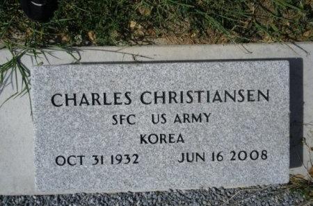 CHRISTIANSEN (VETERAN KOR), CHARLES - Lee County, Texas   CHARLES CHRISTIANSEN (VETERAN KOR) - Texas Gravestone Photos