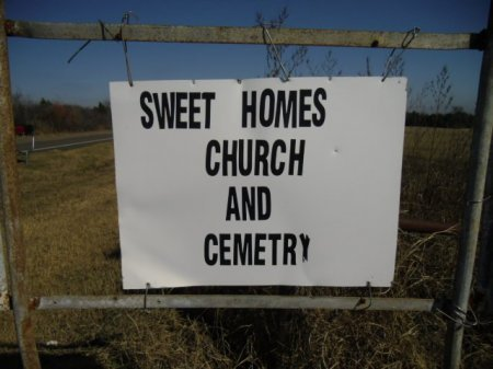 *CHURCH & CEMETERY SIGN,  - Lee County, Texas |  *CHURCH & CEMETERY SIGN - Texas Gravestone Photos