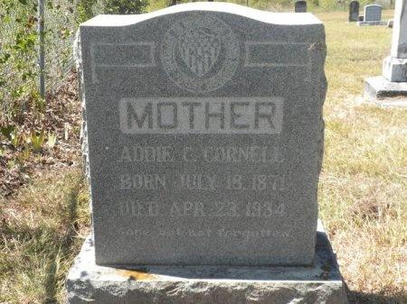 "HOBBS CORNELL, ADALINE CATHERINE ""ADDIE"" - Lee County, Texas | ADALINE CATHERINE ""ADDIE"" HOBBS CORNELL - Texas Gravestone Photos"