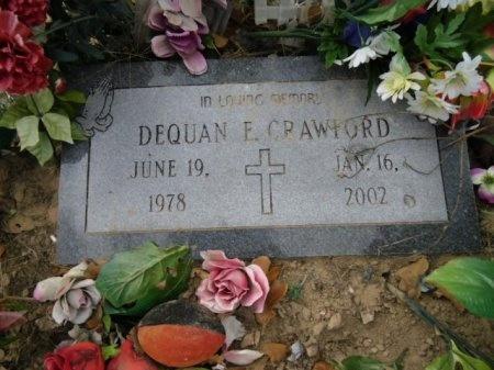 CRAWFORD, DEQUAN E. - Lee County, Texas   DEQUAN E. CRAWFORD - Texas Gravestone Photos