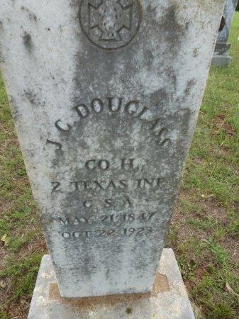 DOUGLASS (VETERAN CSA), J. C. - Lee County, Texas   J. C. DOUGLASS (VETERAN CSA) - Texas Gravestone Photos