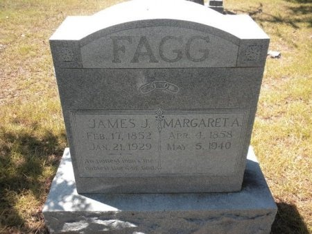 FAGG, MARGARET AGNES - Lee County, Texas | MARGARET AGNES FAGG - Texas Gravestone Photos