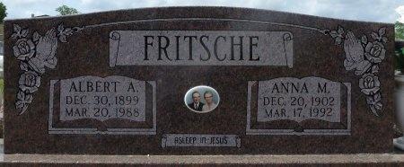 FRITSCHE, ANNA M. - Lee County, Texas | ANNA M. FRITSCHE - Texas Gravestone Photos