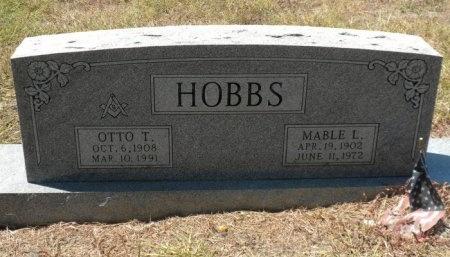 HOBBS, MABLE LOU - Lee County, Texas | MABLE LOU HOBBS - Texas Gravestone Photos