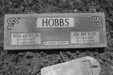 HOBBS, SR., HOSEA ARCHIE - Lee County, Texas | HOSEA ARCHIE HOBBS, SR. - Texas Gravestone Photos