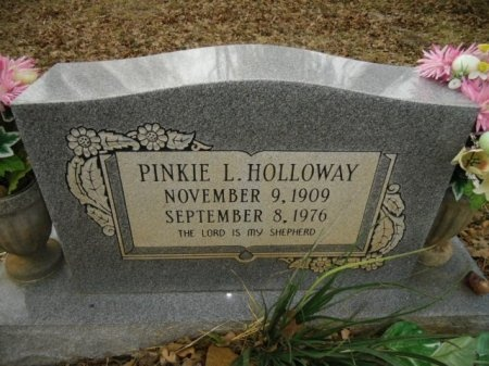 HOLLOWAY, PINKIE L. - Lee County, Texas | PINKIE L. HOLLOWAY - Texas Gravestone Photos