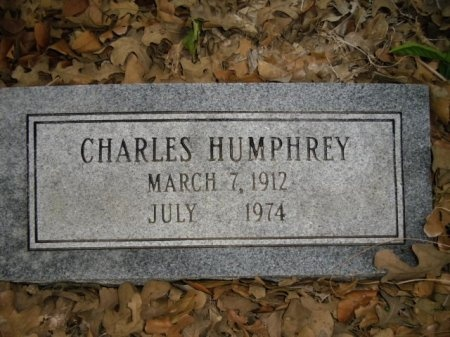 HUMPHREY, CHARLES - Lee County, Texas | CHARLES HUMPHREY - Texas Gravestone Photos