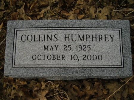 HUMPHREY, COLLINS - Lee County, Texas | COLLINS HUMPHREY - Texas Gravestone Photos