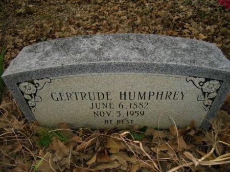 HUMPHREY, GERTRUDE - Lee County, Texas | GERTRUDE HUMPHREY - Texas Gravestone Photos