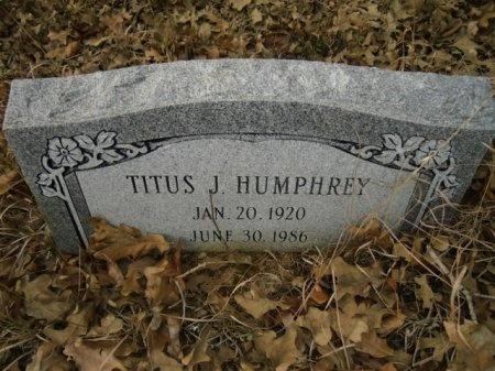 HUMPHREY, TITUS J. - Lee County, Texas | TITUS J. HUMPHREY - Texas Gravestone Photos
