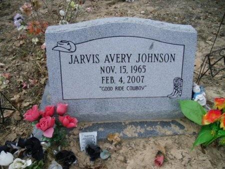 JOHNSON, JARVIS AVERY - Lee County, Texas | JARVIS AVERY JOHNSON - Texas Gravestone Photos