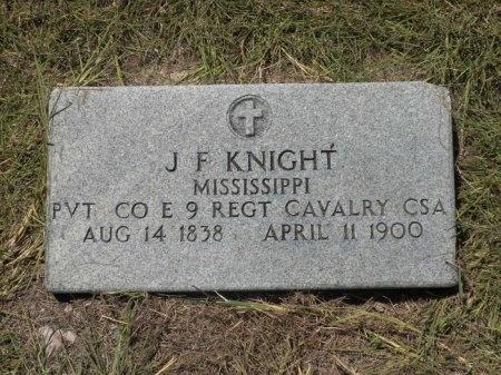 KNIGHT (VETERAN CSA), JOSEPH F  - Lee County, Texas | JOSEPH F  KNIGHT (VETERAN CSA) - Texas Gravestone Photos