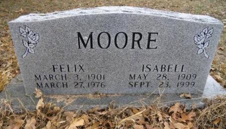 MOORE, FELIX - Lee County, Texas | FELIX MOORE - Texas Gravestone Photos