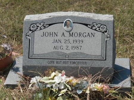 MORGAN, JOHN ARCHIE - Lee County, Texas | JOHN ARCHIE MORGAN - Texas Gravestone Photos