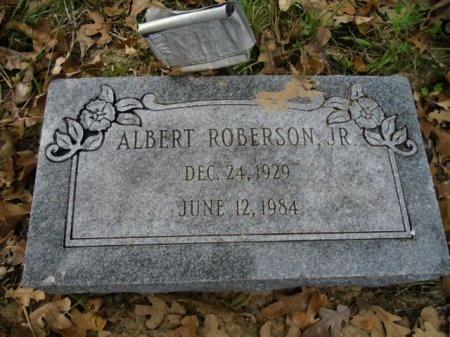 ROBERSON, JR., ALBERT - Lee County, Texas | ALBERT ROBERSON, JR. - Texas Gravestone Photos