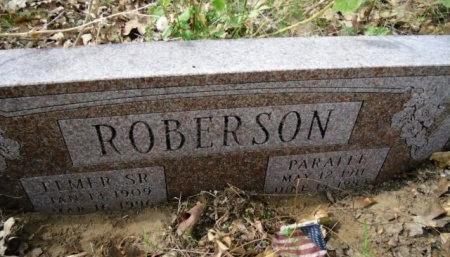 ROBERSON, SR., ELMER R. - Lee County, Texas | ELMER R. ROBERSON, SR. - Texas Gravestone Photos