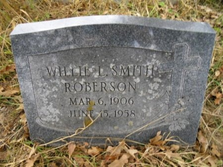 SMITH ROBERSON, WILLIE L. - Lee County, Texas | WILLIE L. SMITH ROBERSON - Texas Gravestone Photos
