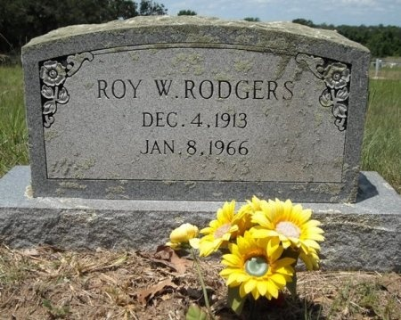 RODGERS, ROY W. - Lee County, Texas | ROY W. RODGERS - Texas Gravestone Photos