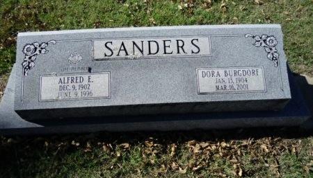 SANDERS, DORA - Lee County, Texas   DORA SANDERS - Texas Gravestone Photos