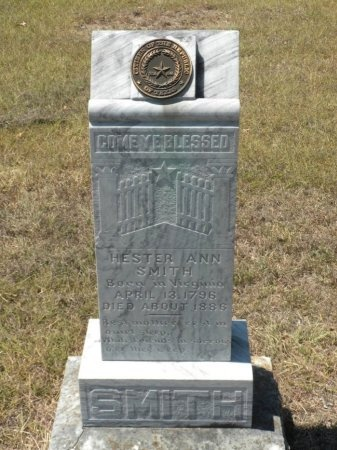 SMITH, HESTER ANN - Lee County, Texas | HESTER ANN SMITH - Texas Gravestone Photos