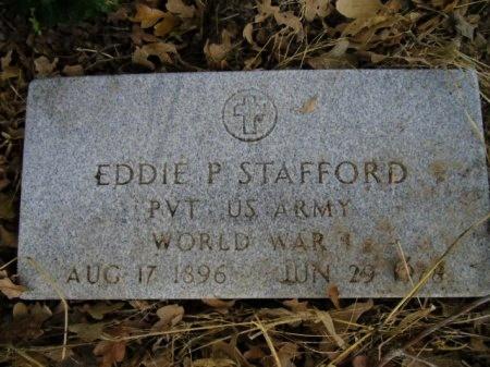 STAFFORD (VETERAN WWI), EDDIE P - Lee County, Texas | EDDIE P STAFFORD (VETERAN WWI) - Texas Gravestone Photos