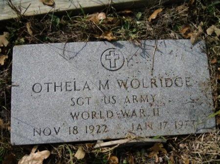 WOLRIDGE (VETERAN WWII), OTHELA M - Lee County, Texas   OTHELA M WOLRIDGE (VETERAN WWII) - Texas Gravestone Photos