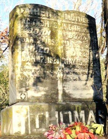THOMAS, M E - Leon County, Texas | M E THOMAS - Texas Gravestone Photos