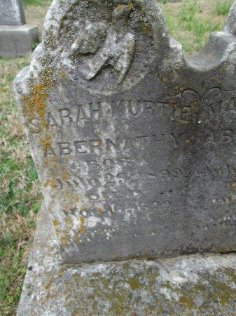 ABERNATHY, SARAH MURTIE - Limestone County, Texas   SARAH MURTIE ABERNATHY - Texas Gravestone Photos