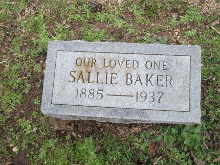 BAKER, SALLIE - Limestone County, Texas | SALLIE BAKER - Texas Gravestone Photos