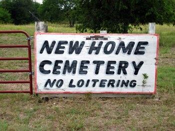 *CEMETERY SIGN,  - Limestone County, Texas |  *CEMETERY SIGN - Texas Gravestone Photos