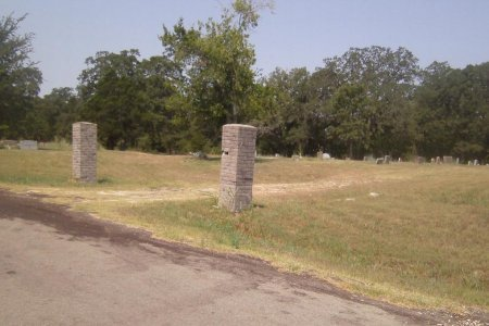*CEMETERY VIEW,  - Limestone County, Texas |  *CEMETERY VIEW - Texas Gravestone Photos