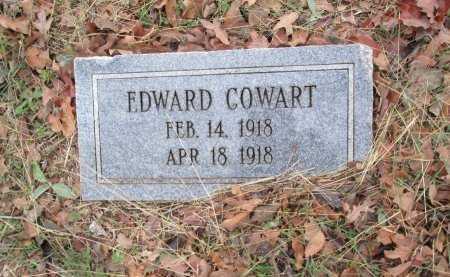 COWART, EDWARD - Limestone County, Texas | EDWARD COWART - Texas Gravestone Photos