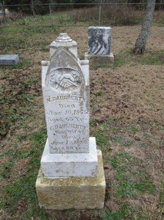 DAUGHERTY, N. - Limestone County, Texas | N. DAUGHERTY - Texas Gravestone Photos