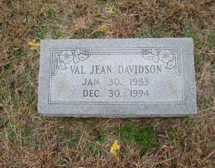 DAVIDSON, VAL JEAN - Limestone County, Texas | VAL JEAN DAVIDSON - Texas Gravestone Photos